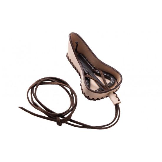 Варган (дримба) 65М в кожаном, кремовом чехле